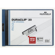 Папка с клипом Durable Duraclip Original 2246-07 A4 1-30лист. темно-синий