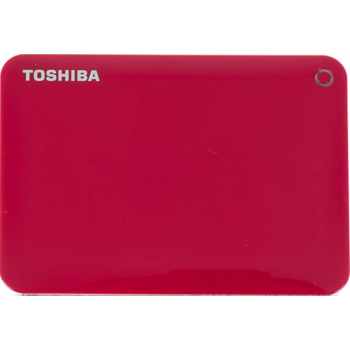 "Жесткий диск Toshiba USB 3.0 500Gb HDTC805ER3AA Canvio Connect II 2.5"" красный"