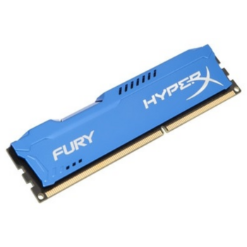 Модуль памяти Kingston DDR3 DIMM 4GB (PC3-12800) 1600MHz HX316C10F/4 HyperX Fury Series CL10