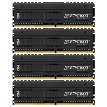 Модуль памяти Crucial DDR4 DIMM 32GB Kit 4x8Gb BLE4C8G4D26AFEA PC4-21300, 2666MHz, CL16