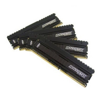 Модуль памяти Crucial DDR4 DIMM 16GB Kit 4x4Gb BLE4C4G4D26AFEA PC4-21300, 2666MHz, CL16