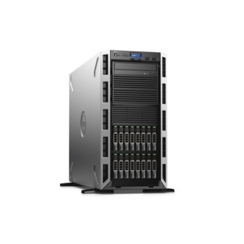 Dell PowerEdge T430 Tower no CPUv4(2)/ no HS/ no memory(8+4)/ no controller/ no HDD(16)SFF/ DVDRW/ iDRAC8 Ent/ 2xGE/ no RPS(2up)/Bezel/3YBWNBD (210-ADLR)