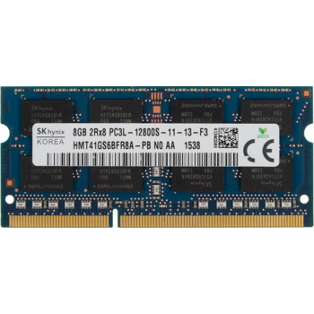 Память DDR3L 8Gb 1600MHz Hynix HMT41GS6BFR8A OEM PC3-12800 CL11 SO-DIMM 204-pin 1.35В original
