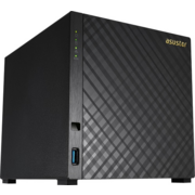 Asustor AS1004T Сетевое хранилище 4-bay, Marvell ARMADA-385 Dual Core, 512MB DDR3, GbE x1, USB 3.0, WoL, System Sleep Mode