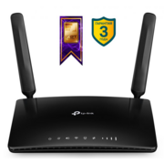 Маршрутизатор 4G V2/V4 version, 4G LTE Router, internal unlocked 4G/3G Modem, 4x10/100Mbps ports, 2 internal Wi-Fi antennas, 2 detachable LTE antennas