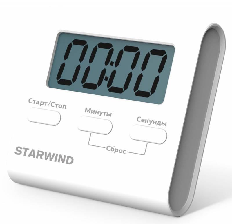 Таймер Starwind SST1151 белый пластик