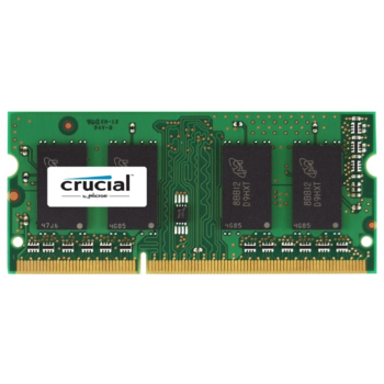 Модуль памяти Crucial DDR3 SODIMM 2GB CT25664BF160B PC3-12800, 1600MHz