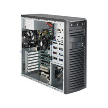 "Серверная платформа Supermicro SuperWorkstation SYS-5039A-IL (X11SAE, CSE-732D4-500B) (Single Socket H4 (LGA 1151) supports Intel® Xeon® processor E3-1200 v6/v5, Intel® C236 chipset, 4xDDR4 Up to 64GB Unbuffered ECC/non-ECC UDIMM, 4 internal 3.5"" HDD or 4"