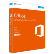 Программное обеспечение T5D-02705 Microsoft Office Home and Business 2016 Russian 32/64-bit Russia Only DVD No Skype P2