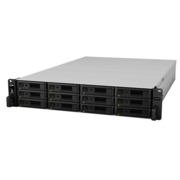 Полка расширения для схд Synology Expansion Unit (Rack 2U) for RS4021xs+,RS3621RPxs,RS3621xs+,RS2418+/ up to 12hot plug HDDs SATA(3,5' or 2,5')/1xPS incl Cbl