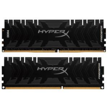 Модуль памяти Kingston DDR4 DIMM 16GB Kit 2x8Gb HX432C16PB3K2/16 PC4-25600, 3200MHz, CL16, HyperX Predator