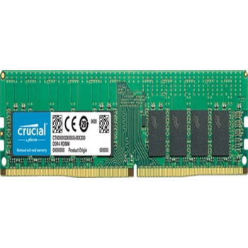 Модуль памяти Crucial DDR4 DIMM 16Gb CT16G4RFD424A PC4-19200, 2400MHz, ECC Reg, CL17