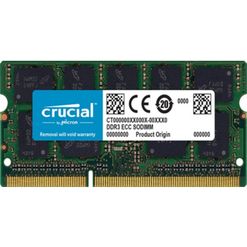 Модуль памяти Crucial DDR3 SODIMM 4GB CT51264BF160B PC3-12800, 1600MHz