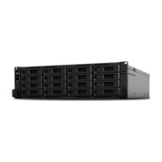"Synology RS4017xs+ Сетевое хранилище (Rack3U) 16xHDD Hot Plug SATA(3,5"" or2,5"") upto 40 (with 2xRX1217RP), 8C2,1Ghz/8Gb/RAID0,1,10,5,6/2xUSB/4GigEth+2x10GE/iSCSI/2xIPcam(upto90)"