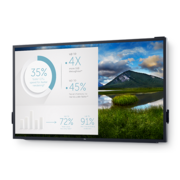 "Монитор Dell 85.6"" C8618QT черный IPS LED 16:9 HDMI M/M матовая 400cd 178гр/178гр 3840x2160 D-Sub DisplayPort Ultra HD USB Touch 120кг"