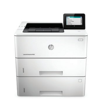 HP LaserJet Enterprise M506x (A4, 1200dpi, 43ppm, 512Mb, 2trays 100+550*2, USB/GigEth/NFC, Duplex, color LCD, 3y war, replace CE529A)