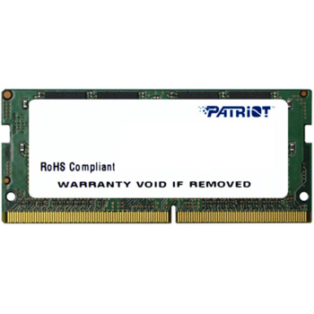 Модуль памяти Patriot DDR4 SODIMM 4GB PSD44G240082S PC4-19200, 2400MHz