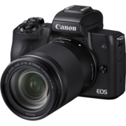 "Фотоаппарат Canon EOS M50 черный 24.1Mpix 3"" 4K WiFi 18-150 IS STM LP-E12 (с объективом)"