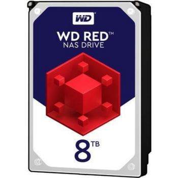 Жесткий диск WD Original SATA-III 8Tb WD80EFAX NAS Red (5400rpm) 256Mb 3.5""