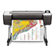 "Широкоформатный принтер HP DesignJet T1700dr (44"",2400x1200dpi, 26spp(A1), 128Gb(virtual), HDD500Gb, host USB type-A/GigEth,stand,sheet feed,2 rollfeed,autocutter, TouchScreen, 6 cartridges/3 heads,2y warr)"