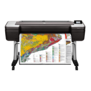 "Широкоформатный принтер HP DesignJet T1700dr PS (44"",2400x1200dpi, 26spp(A1), 128Gb(virtual), HDD500Gb, host USB type-A/GigEth,stand,sheet feed,2 rollfeed,autocutter, TouchScreen, 6 cartridges/3 heads,2y warr)"
