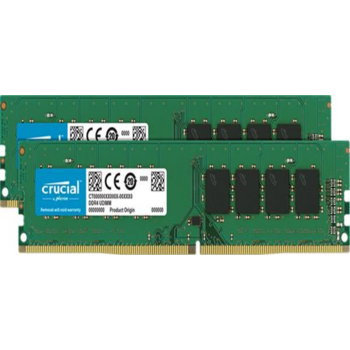 Память оперативная Crucial 8GB Kit (4GBx2) DDR4 2400 MT/s (PC4-19200) CL17 SR x8 Unbuffered DIMM 288pin