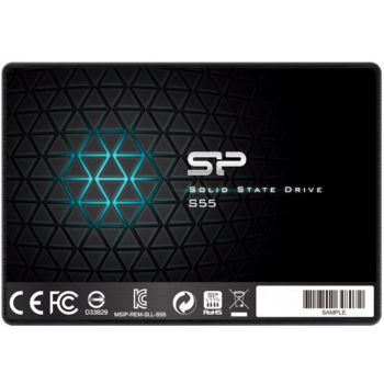 накопитель Silicon Power SSD 240Gb S55 SP240GBSS3S55S25 {SATA3.0, 7mm}