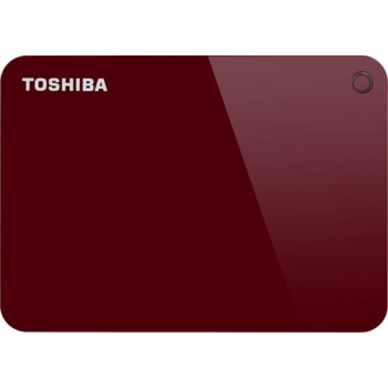 "Жесткий диск Toshiba USB 3.0 2Tb HDTC920ER3AA Canvio Advance 2.5"" красный"