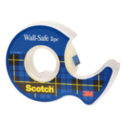 Клейкая лента 3M Scotch Wall-Safe 7100136397 шир.19мм дл.16.5м невидимая на мини-диспенсере