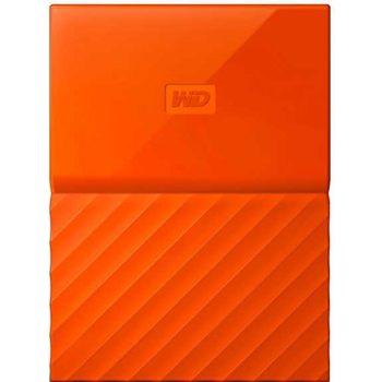 "Жесткий диск WD Original USB 3.0 1Tb WDBBEX0010BOR-EEUE My Passport 2.5"" оранжевый"