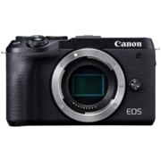 "Фотоаппарат Canon EOS M6 Mark II черный 32.5Mpix 3"" 1080p WiFi LP-E17 (без объектива)"