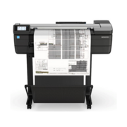 "Широкоформатный принтер HP DesignJetT830 MFP (p/s/c, 24"",4color,2400x1200dpi,1Gb,26spp(A1 drawingmode),USB/GigEth/Wi-Fi,stand,mediabin,rollfeed,sheetfeed,tray50(A3/A4),autocutter,Scanner600dpi,24x109"", 2ywarr, repl. F9A28A)"