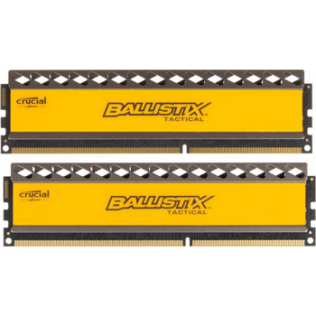 Модуль памяти Crucial DDR3 DIMM 8GB (PC3-15000) 1866MHz Kit (2 x 4GB) BLT2CP4G3D1869DT1TX0CEU Ballistix Tactical CL9